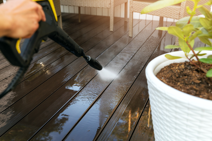 Composite Decking Aftercare