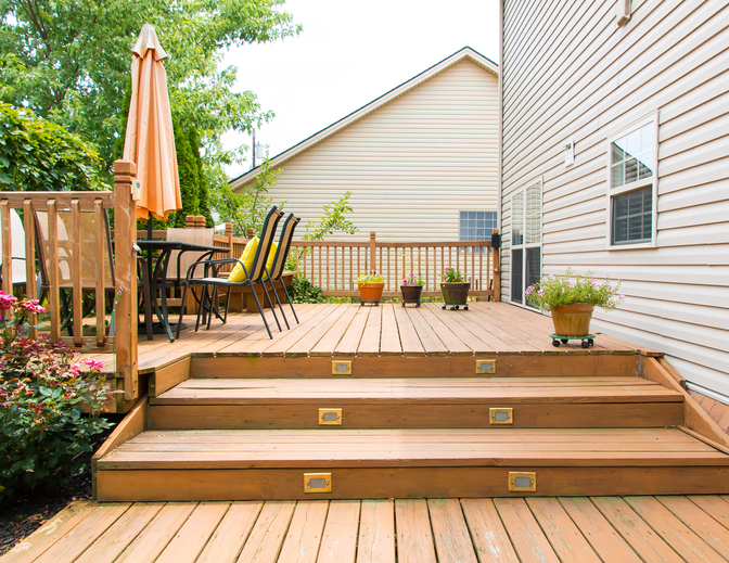 Installing Decking Steps and Handrails